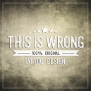 THIS IS WRONG logo